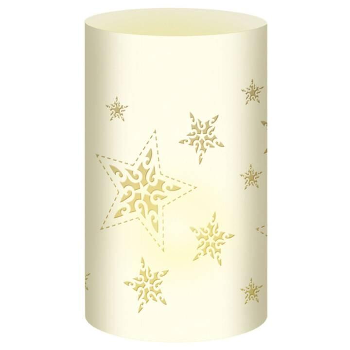 URSUS Weihnachtswindlichter Sterne Beige