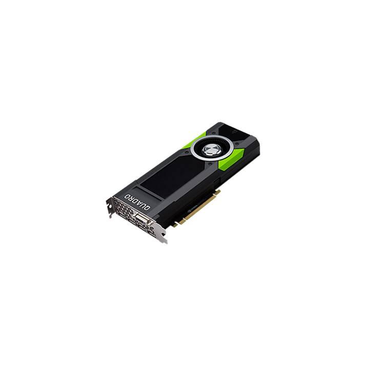 FUJITSU S26361-F2222-L504 Nvidia Quadro P5000 (16 Go, Gaming)