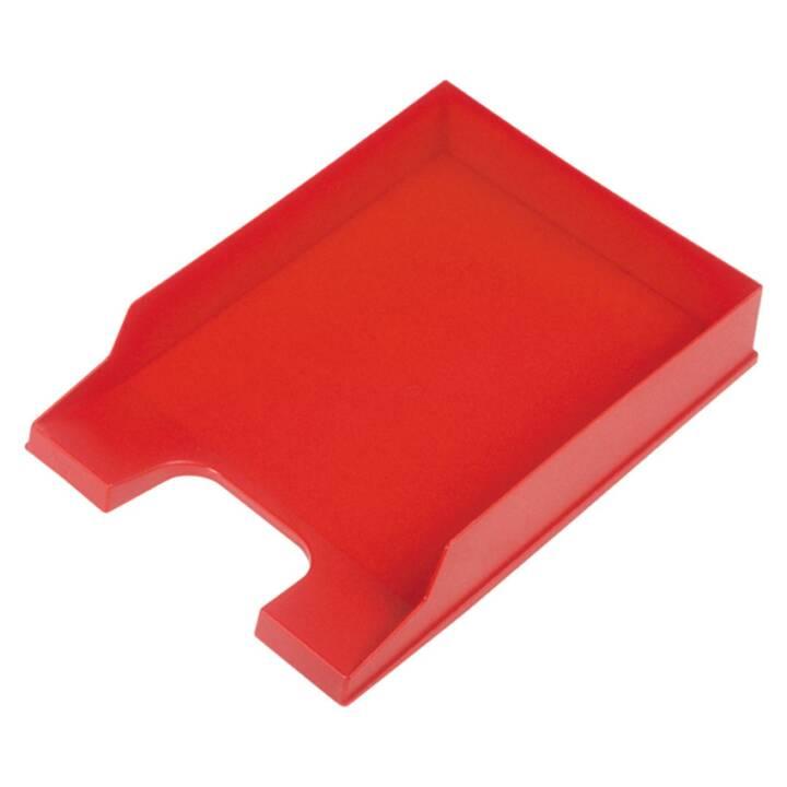 "Vassoio per lettere HELIT ""the heavyweight"" A4 - C4, rosso"