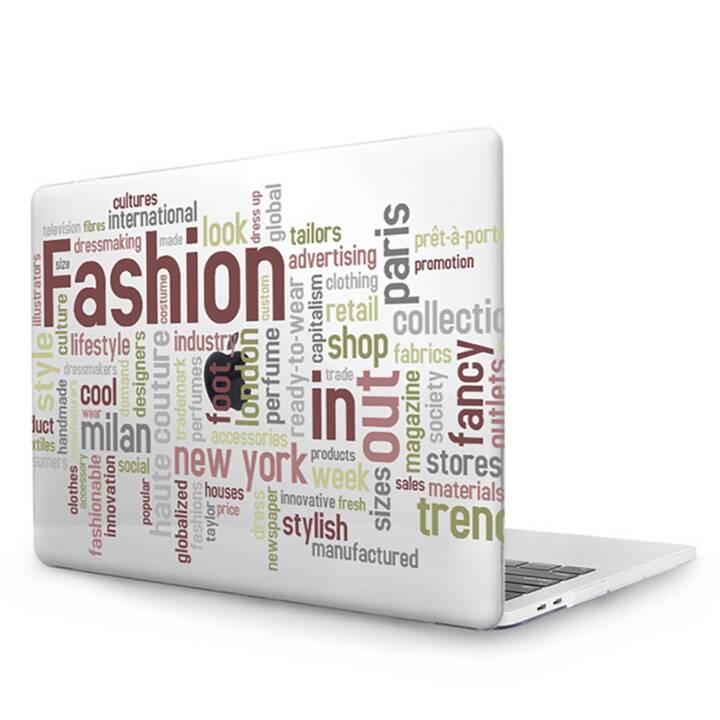 """EG MTT Cover für MacBook Pro 13"""" CD ROM - Brown Vokabel"""