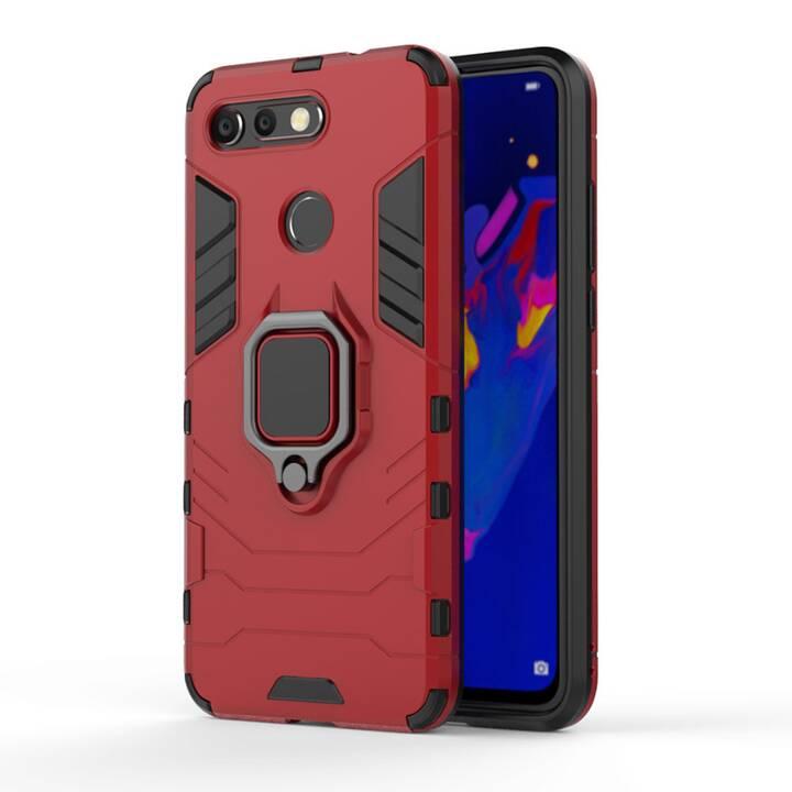 EG Mornrise Hülle mit Metallring für Xiaomi Redmi K20 Pro - Rot