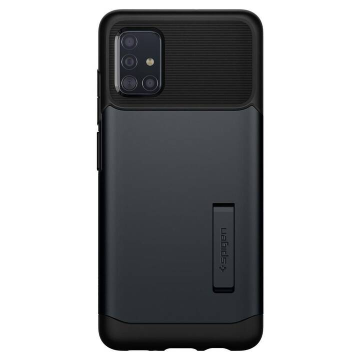 SPIGEN Backcover Slim Armor (Galaxy A51, Noir)