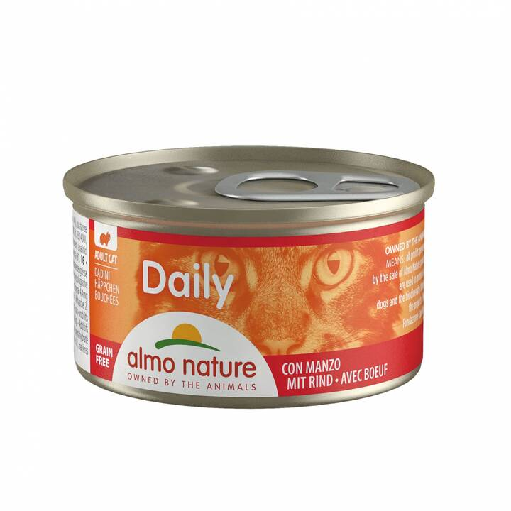 ALMO NATURE Daily (Adulte, 1 x 85 g, Bœuf)