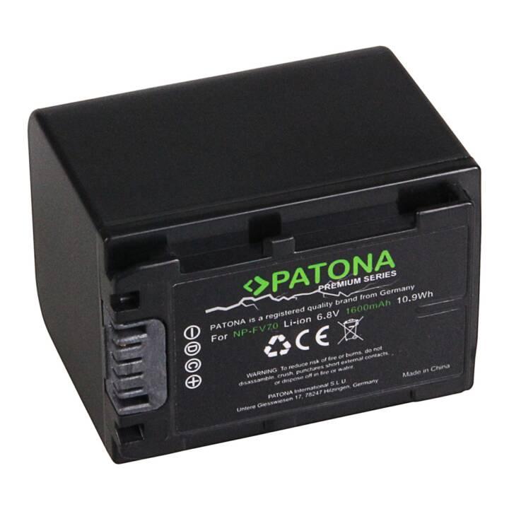 PATONA Premium Batterie pour Sony NP-FV70