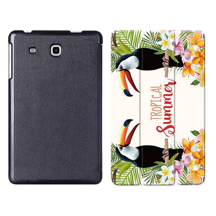 """EG MTT Tablet Tasche mit Smart faltbare Abdeckung für Samsung Galaxy Tab A A6 7 """"- Vogel"""