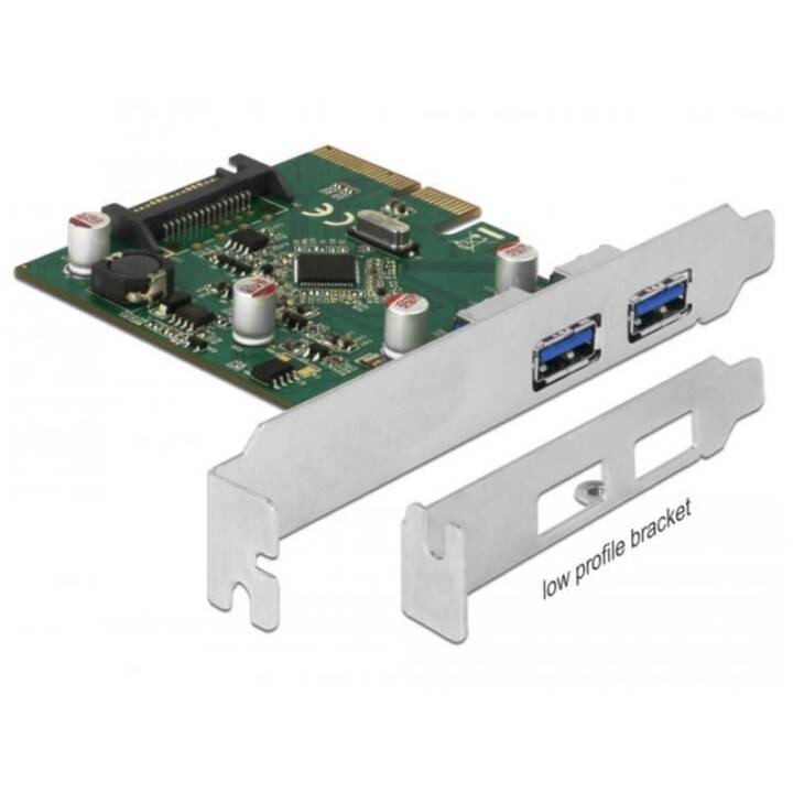 DELOCK 90298 PCI-Express-Karte (USB Typ A)