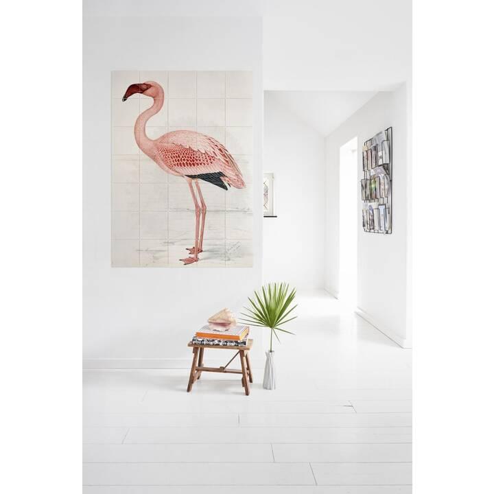 IXXI Tatouage mural Flamingo (Pink)