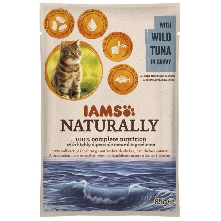 IAMS Naturally (Adulte, Thon, 85 g)