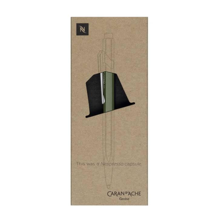 CARAN D'ACHE Kugelschreiber Nespresso Edition 2 Grün