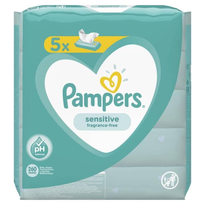 PAMPERS Sensitive 5 x 52