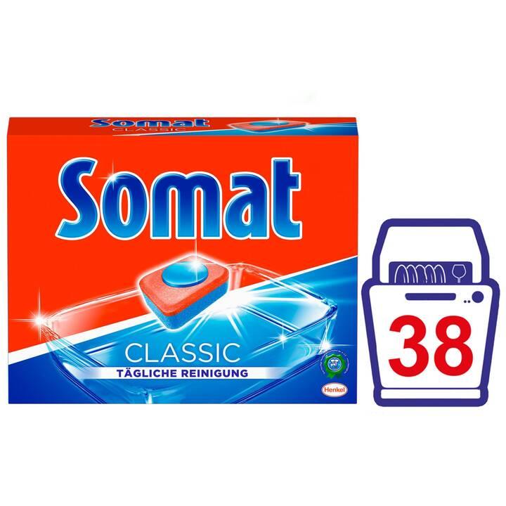SOMAT Liquide vaisselle Classic  (38 pièce, Tabs)