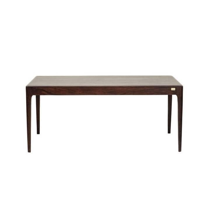 KARE Tavolo da pranzo Brooklyn Walnut (200 cm x 100 cm x 76 cm, Marrone, Legno)
