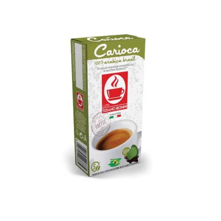 TIZIANO BONINI Capsule di caffè Caffè crema Carioca (10 pezzo)