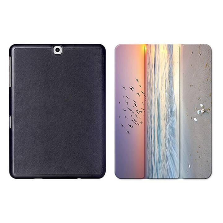 """EG MTT Sacoche à comprimés avec housse pliable Smart pour Samsung Galaxy Tab S2 9.7"""" MTT - Sky"""