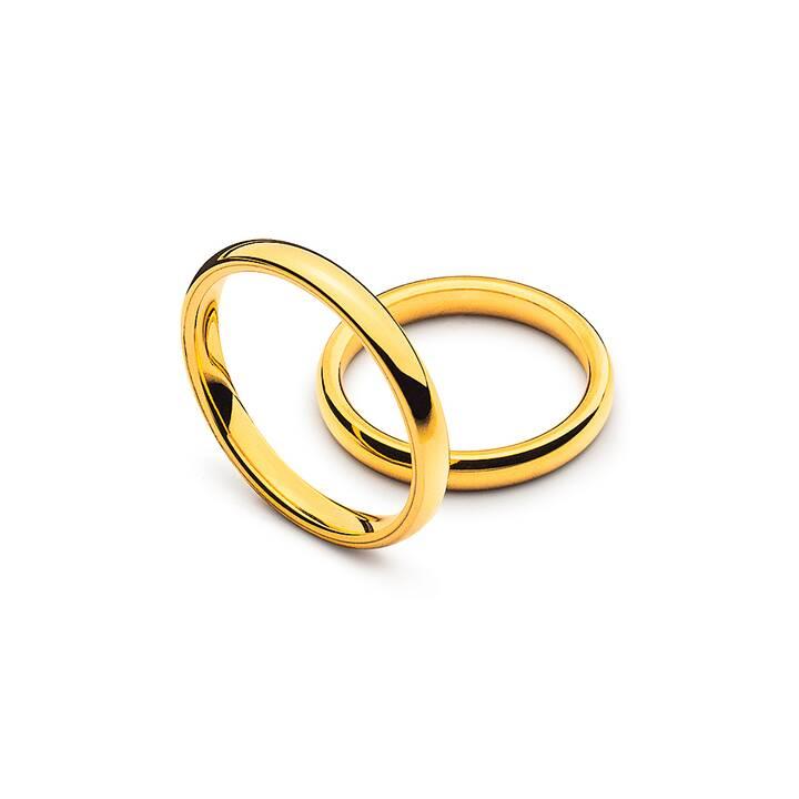 MUAU Comfort Fit Ehering (Gelbgold 750, 51)