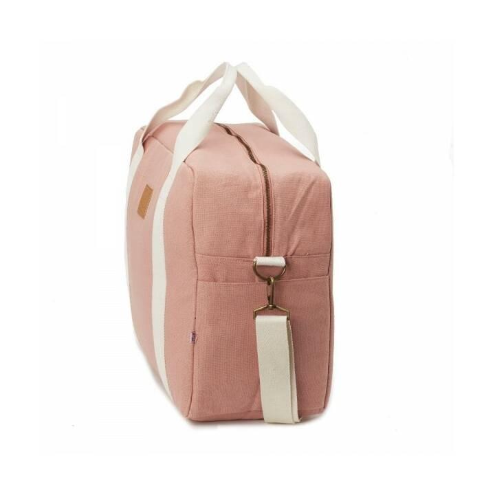 MY BAG'S Borsa fasciatoio Happy Family (Pink, Bianco)