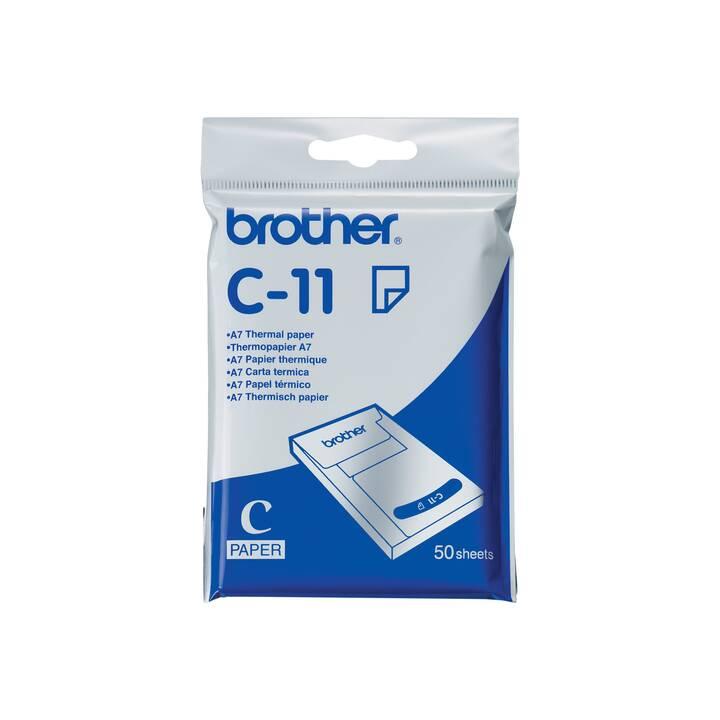BROTHER C11 Carta di trasferimento (A7, 50 pezzo)