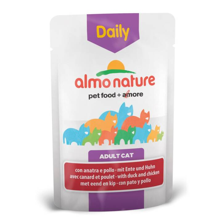ALMO NATURE Daily (Adulto, 70 g, Pollo, Anatra)