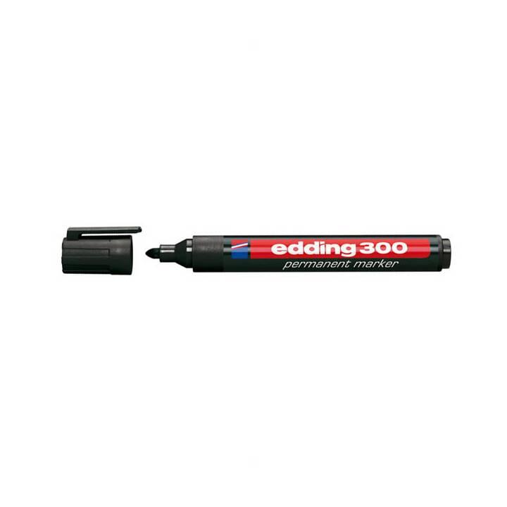 EDDING Marqueur permanent 300 1,5-3mm noir