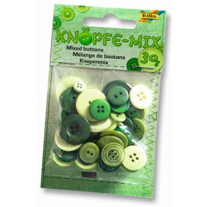 FOLIA Button Mix, vert