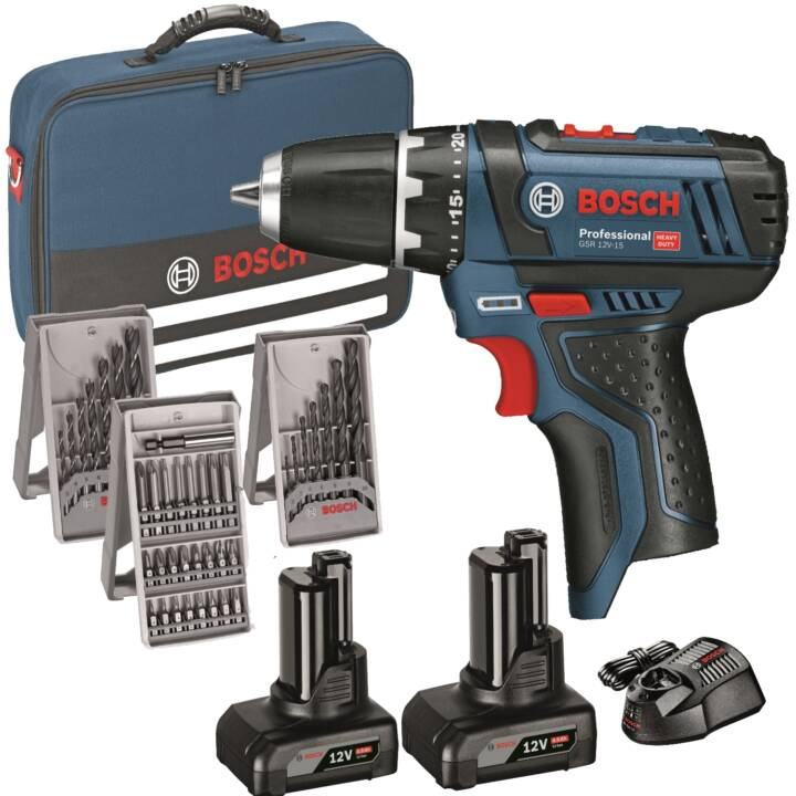Bosch professional akkuschrauber gsr 12v-15