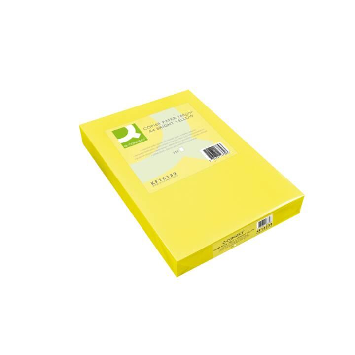 Q-CONNECT Papier à copier, A4, jaune