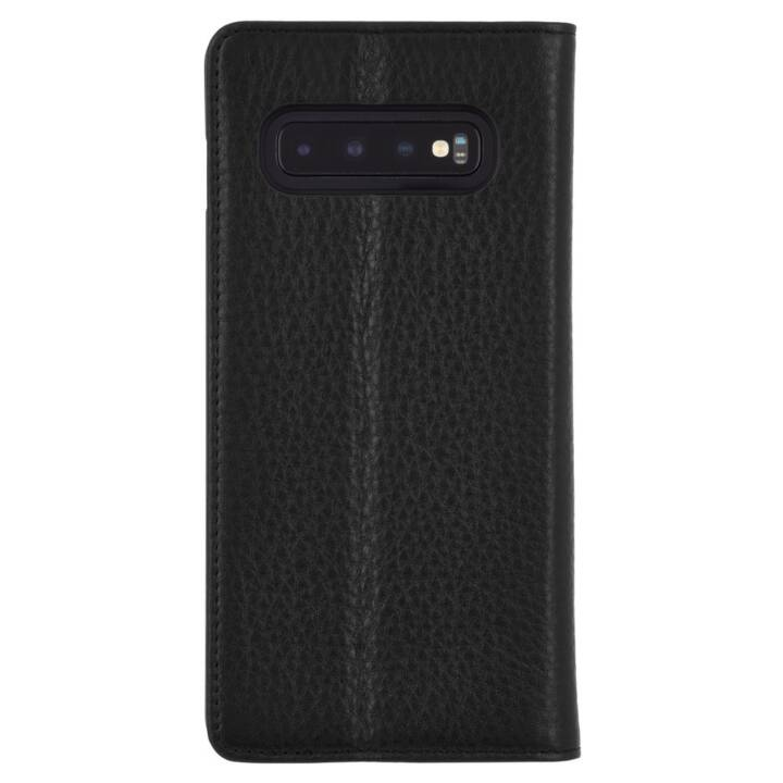 CASE-MATE Flipcover Wallet Folio (Galaxy S10+, Schwarz)