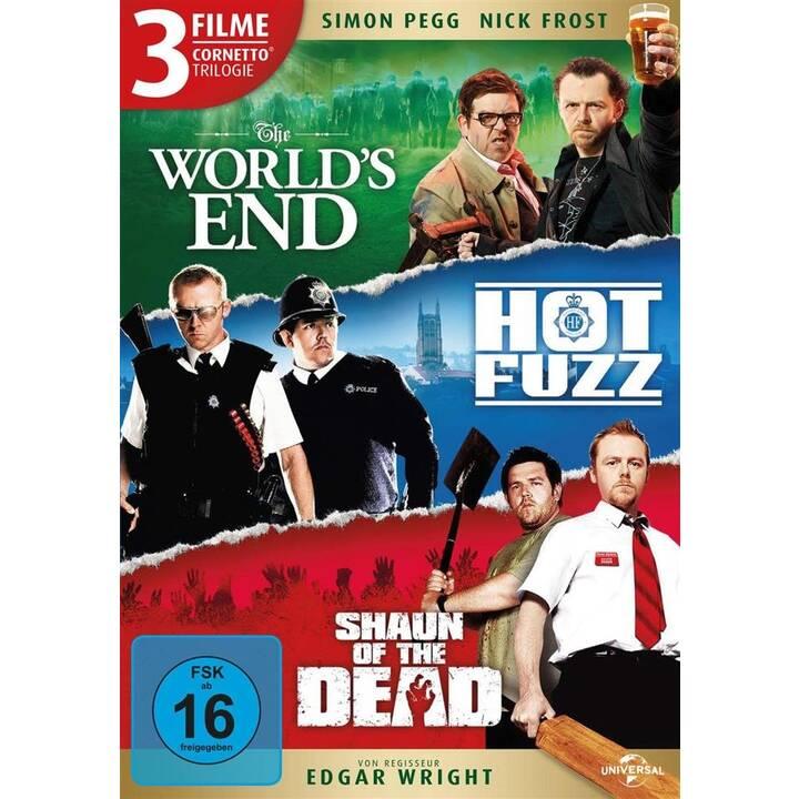 The World's End / Hot Fuzz / Shaun of the Dead - Cornetto Trilogie  (DE, EN)