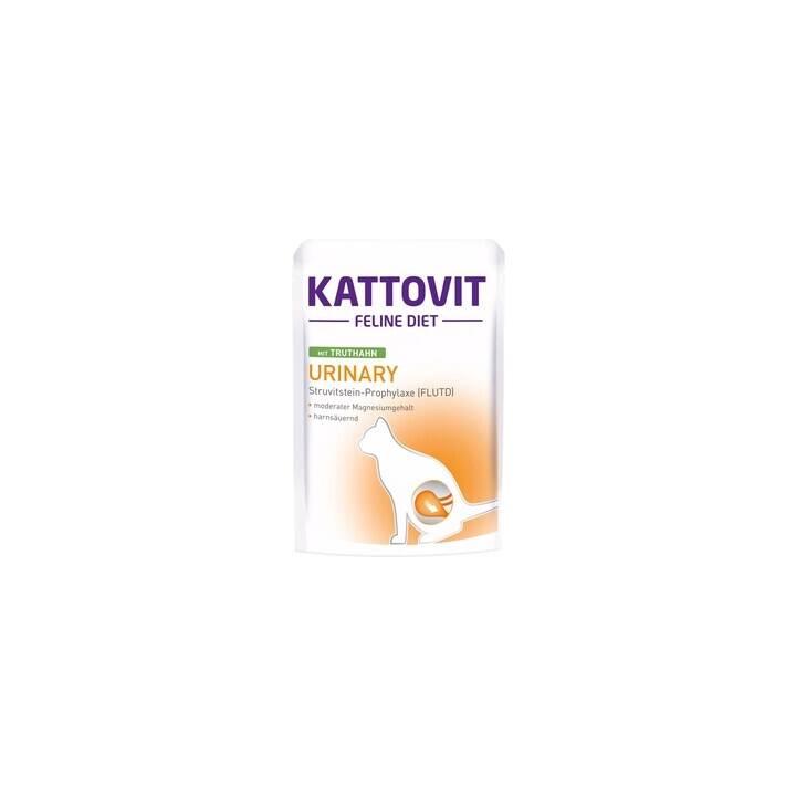 KATTOVIT Cibo umido (Adulto, 85 g, Tacchino)