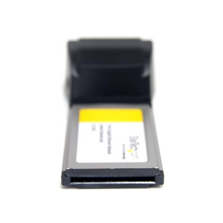 STARTECH.COM ExpressCard Laptop Netzwerkkarte (2 x RJ-45)