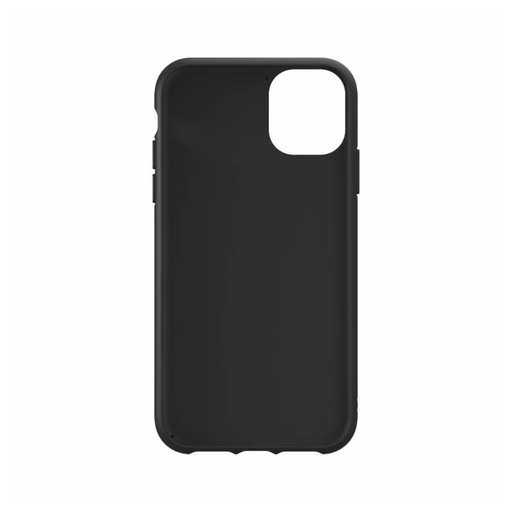 ADIDAS Backcover Moulded PU (iPhone 11, Nero, Bianco)
