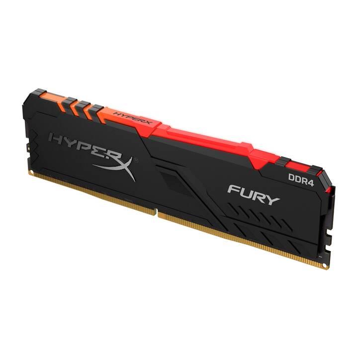 HYPERX FURY (1 x 16 Go, DDR4-SDRAM, DIMM 288-Pin)