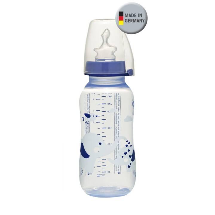NIP Babyflasche Boy Elefant (250 ml, Polypropylen)