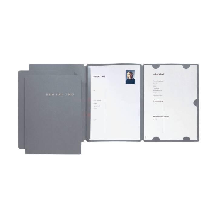File di applicazione PAGNA Seleziona A4 grigio, 3 pezzi