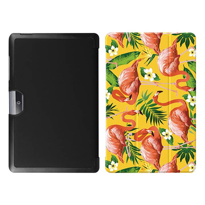 "EG MTT Tablet bag con coperchio pieghevole per Acer Iconia Tab 10 10.1"" - Flamingo"