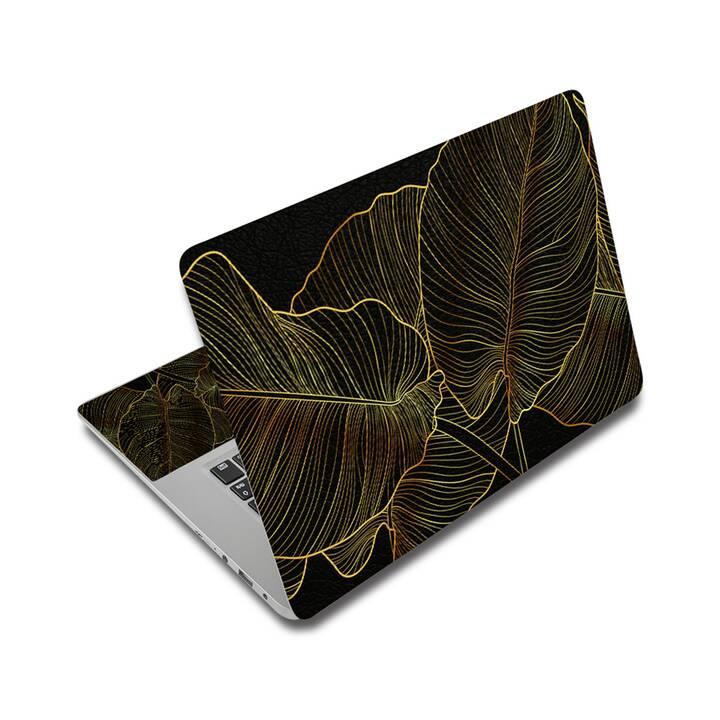 "EG adesivo per laptop 15"" - foglie"