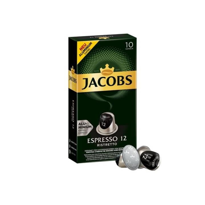 JACOBS Kaffeekapseln Ristretto (10 Stück)