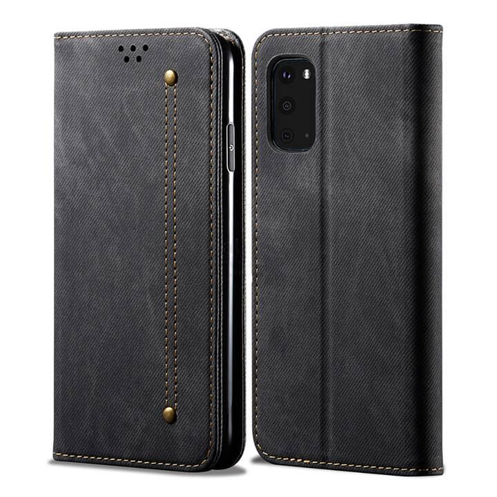 """EG Mornrise Wallet Case für Samsung Galaxy A51 6.5 """"2020 - Schwarz"""