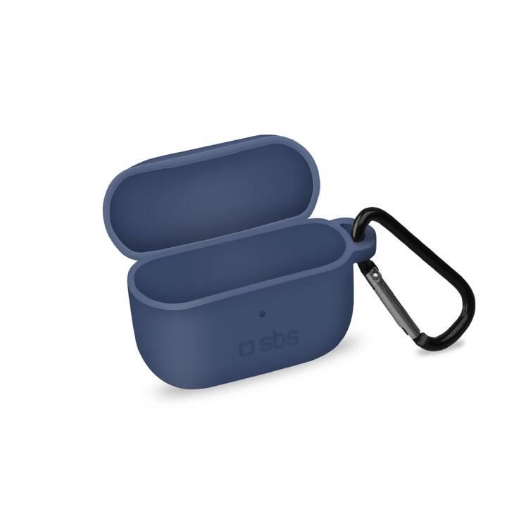 SBS Etui Apple Airpods Pro Sac (Bleu)