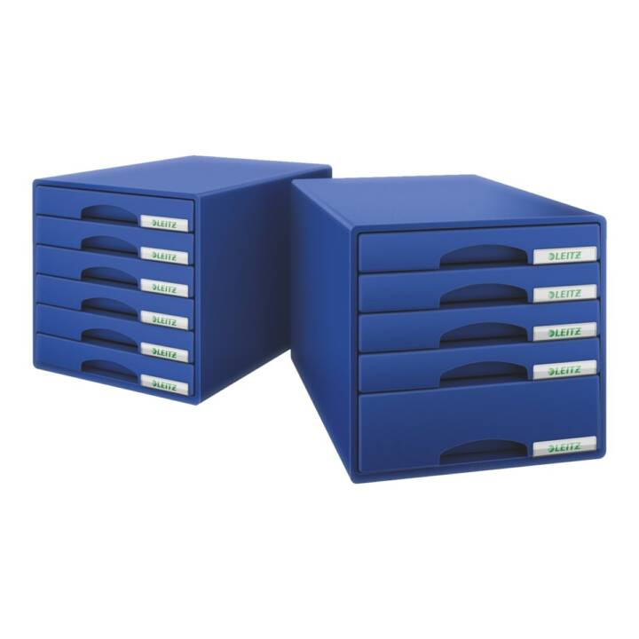 LEITZ Schubladenbox (A4, Blau)