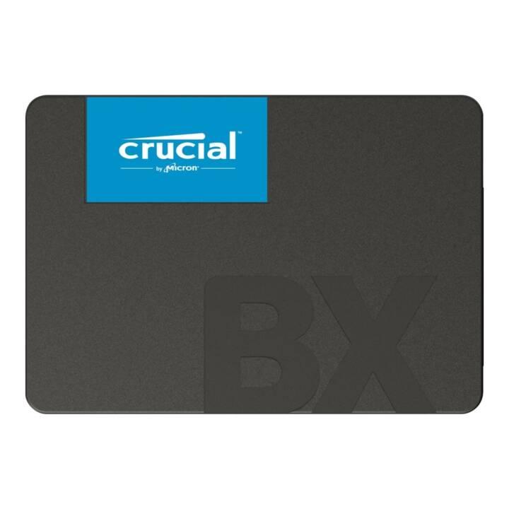 CRUCIAL BX500 (SATA-III, 480 GB, Nero)