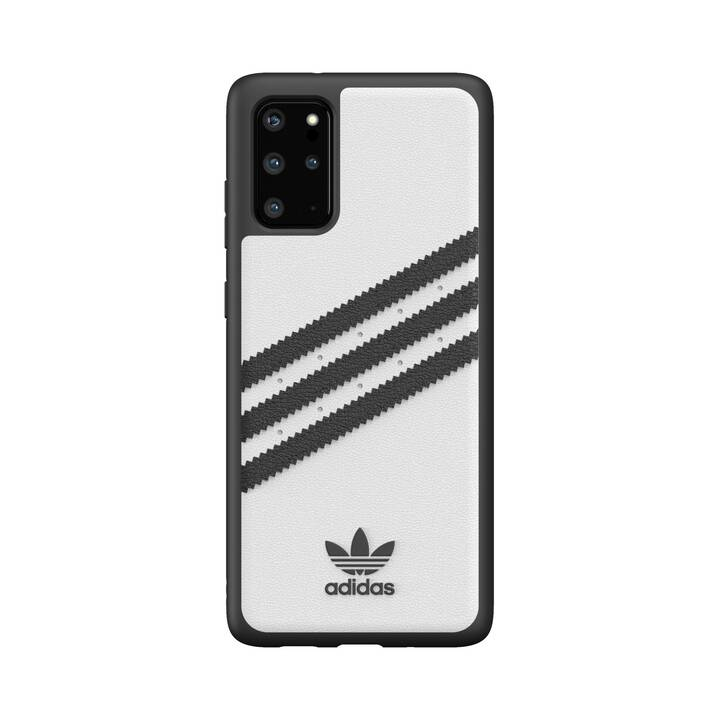 ADIDAS Backcover Moulded (Galaxy S20+, Galaxy S20+ 5G, Schwarz, Weiss)