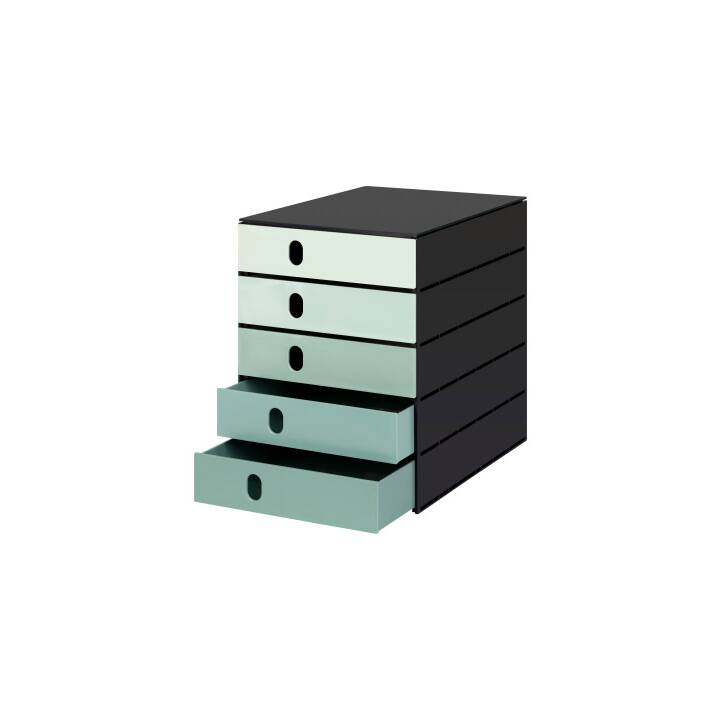 STYRO Support étagère (Vert, Noir, 1 pièce)