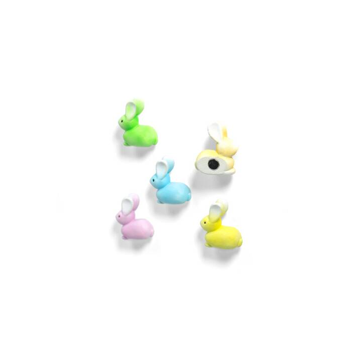 TRENDFORM Magnets Aimants Bunny set de 5 aimants assortis