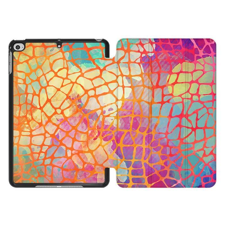 EG MTT Coque pour iPad Mini 4 (2015) et Mini 5 (2019) - aquarelle