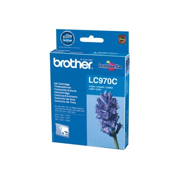 BROTHER LC970C  (Ciano, 1 pezzo)