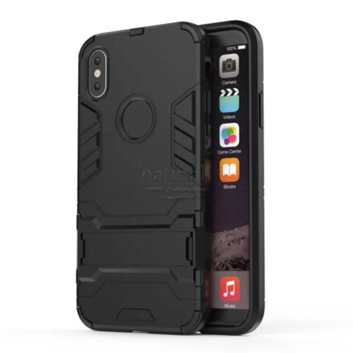 EG Backcover per iPhone X Nero