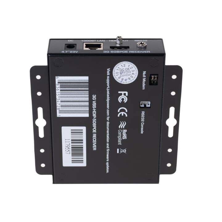 JUST ADD POWER Receiver VBS-HDIP-508POE