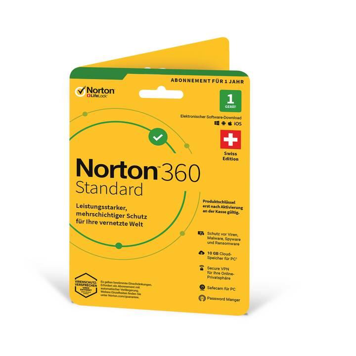 NORTON 360 Standard (Licence, 1x, 1 année, Allemand)