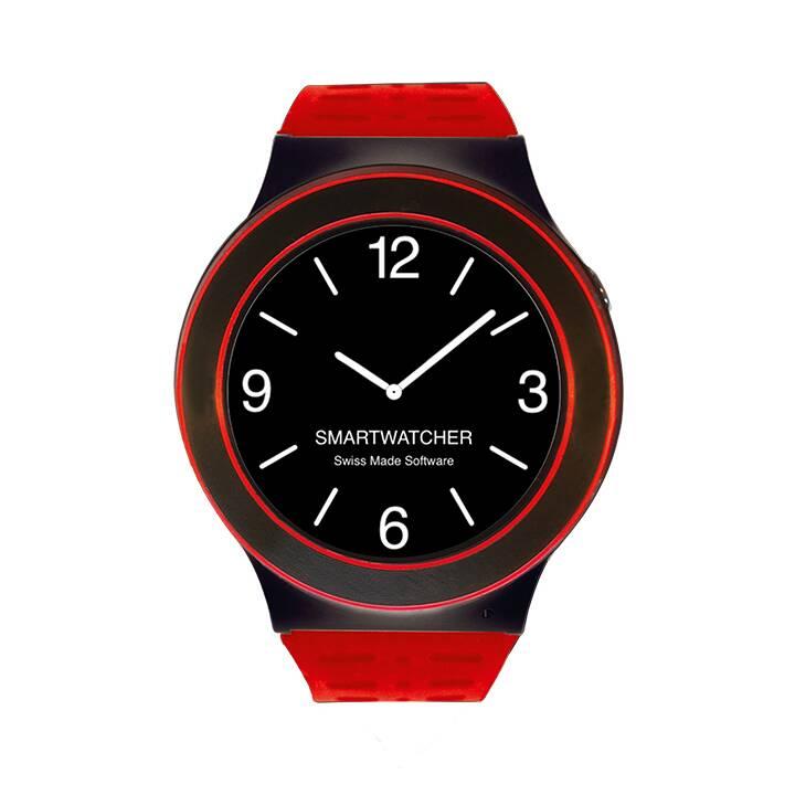 SMARTWATCHER horloge de secours SENSE Rouge